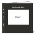 dm 1/2 marathon - by ArtsCow - 8x8 Photo Book (20 pages)