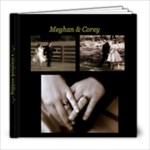 Meghan & Corey - 8x8 Photo Book (20 pages)