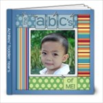 ABC s of Me - Achilles  Toddler Years - 8x8 Photo Book (39 pages)
