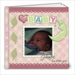 Zoe-Baby 1 - 8x8 Photo Book (20 pages)