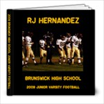 RJ Hernandez - 8x8 Photo Book (60 pages)