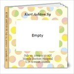Kurt 0-3 Months Old - 8x8 Photo Book (20 pages)