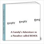 A Paradise called Bohol - 8x8 Photo Book (39 pages)