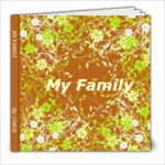 MY FAMILY BY C.S.L. - 8x8 Photo Book (39 pages)