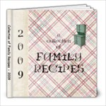 Our Family Recipe Book - 8x8 Photo Book (20 pages)