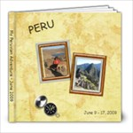 Peru - 8x8 Photo Book (39 pages)