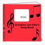 ELLIES SONG BOOK - 8x8 Photo Book (20 pages)
