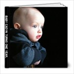 Cadyn 1 Yr. Dec 2009 - 8x8 Photo Book (20 pages)