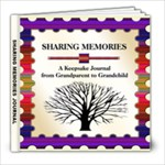 Grandma Remembers (Sharing Memories Journal 8x8) - 8x8 Photo Book (20 pages)