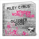 miley concert - 8x8 Photo Book (39 pages)