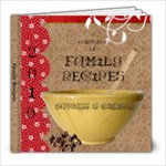 Recipe book - 8x8 Photo Book (20 pages)