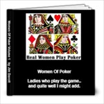 Women Of Poker - 8x8 Photo Book (20 pages)