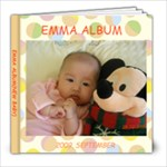 EMMA BABY2 - 8x8 Photo Book (20 pages)
