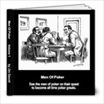 Men of Poker - 8x8 Photo Book (20 pages)