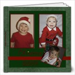 Starry Night Christmas Album 12x12 - 12x12 Photo Book (20 pages)