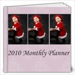 2010 Monthly Planner Date Book - 12x12 Photo Book (30 pages)
