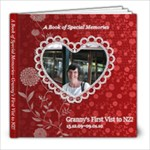 Granny s First Visit to NZ high res - 8x8 Photo Book (20 pages)