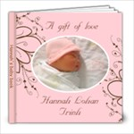 Hannah s baby book - 8x8 Photo Book (20 pages)