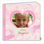 Alex1-3 - 8x8 Photo Book (20 pages)