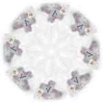 All my love Delicate - Folding Umbrella