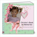Christa Book 3 - 8x8 Photo Book (20 pages)