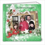 December Gatherings Family Book 2009 - 8x8 Photo Book (20 pages)