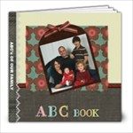 ABC Book Family - 8x8 Photo Book (20 pages)