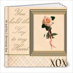Mr and Mrs J. E. Doe - 8x8 Photo Book (100 pages)