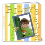 Riley s ABC Book - 8x8 Photo Book (20 pages)