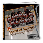 2009 2010 novice hockey yearbook - 8x8 Photo Book (20 pages)