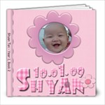 Shyan 6-12 months - 8x8 Photo Book (20 pages)