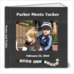 Parker and Tucker - 8x8 Photo Book (20 pages)