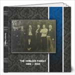 Horlock Family History  gillian - 12x12 Photo Book (60 pages)