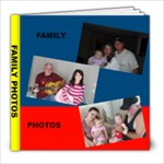 FAMILY PHOTOS - 8x8 Photo Book (30 pages)