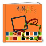 Our memories 8X8 - 8x8 Photo Book (20 pages)