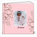 pink n brown - 8x8 Photo Book (20 pages)