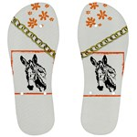 Donkey head Men s Flip Flops