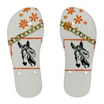Donkey head Women s Flip Flops