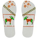 Funky Donkey Men s Flip Flops
