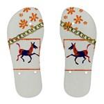 Funny Donkey Women s Flip Flops