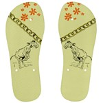 Naughty donkey Men s Flip Flops