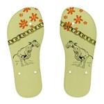 Naughty donkey Women s Flip Flops