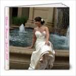 Bridal Book - 8x8 Photo Book (20 pages)