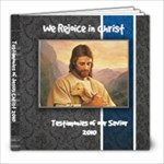 Testimonies of the Savior 2010 - 8x8 Photo Book (20 pages)