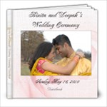 Bini and Deepak Guestbook - 8x8 Photo Book (20 pages)