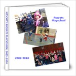 PLAYSCHOOL END OF YEAR BOOK - 8x8 Photo Book (20 pages)