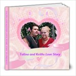 LOVE STORY - 8x8 Photo Book (20 pages)