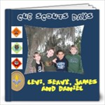 Cub Scouts Years - 12x12 Photo Book (20 pages)