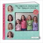 Vasquez Girls 2009/2010 - 8x8 Photo Book (20 pages)
