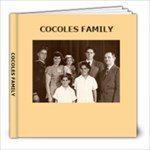 COCOLES FAMILY - 8x8 Photo Book (20 pages)